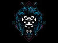 Lion sacred geometry