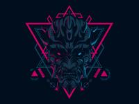 Dart-Mask Sacred Geometry