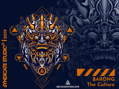 Barong The Culture detail sacred geometry t-shirt sacredgeometry gold devils devil clothing apparel cover opinion poster t-shirtdesign illustration culture dance mask bali nalinese barong