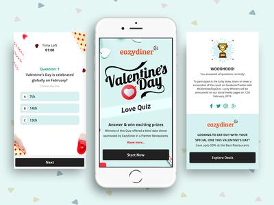 Valentines day love quiz