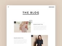 Fashion Label - Blog