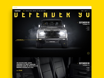 Twisted - Defender 90