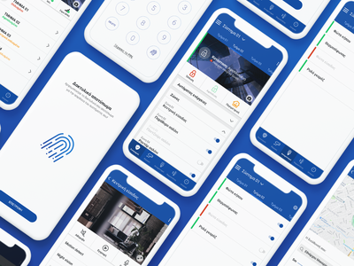 Smart Home Security System App thermostat security system smart home app user experience mobile app design ux design user interface design web design