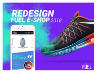 Redesign Fuel e-shop | 2018