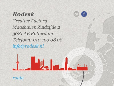 Small part of the Яodesk website rodesk website