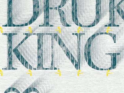 Rodesk druk King poster print