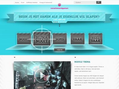Gaming website website ux gaming interface