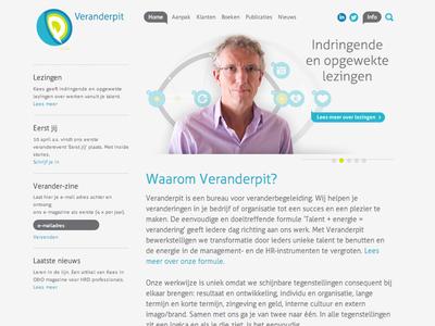 Veranderpit ux interface website