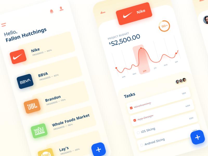 team mobile app patterns vector minimal flat web app ux ui typography design