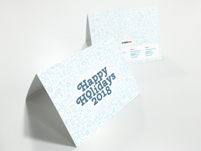 Holiday Card for projekt202