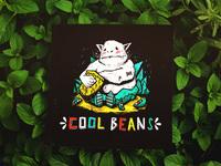 Cool beans print