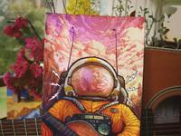 Spaceman print instagram