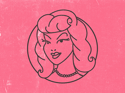 Pinup Girl Icon