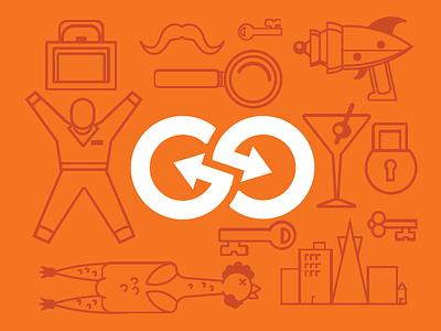Logo & Dingbats dingbats icon illustration logo