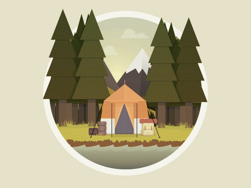 Camping icon2