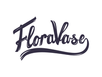 FloraVase logo concept