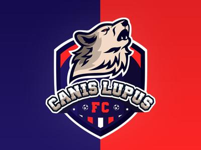 Canis Lupus Football Club Brand Identity