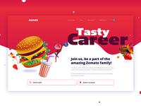 Zomato Career Website Concept