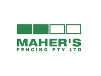 (Unused) Logo Design for Maher's Fencing Company