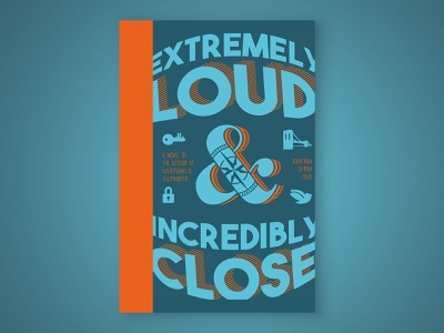 Extremely Loud & Incredibly Close design book cover design book design book cover typography design typography jessica hische