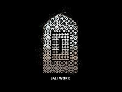 J for jali work #36daysoftype