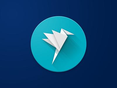 Flyte icon flyte material design material logo apple app icon design ios icon photoshop vector