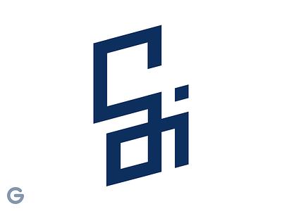 Gi lettering brand identity illustrator photoshop vector logotype logo