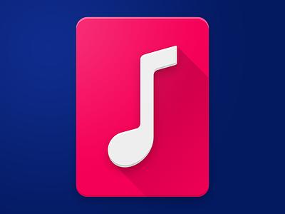 Molly Icon molly music vector photoshop material design material logo ios icon design icon apple app