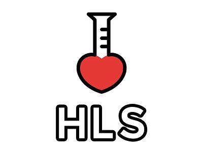 Health & Life Science Logo ibm hls lettering brand identity illustrator photoshop vector logotype logo