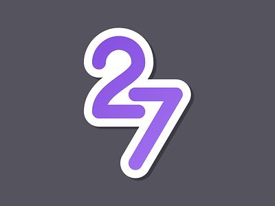 Twentyseven sketch ui flat logo apple app icon design ios icon vector photoshop