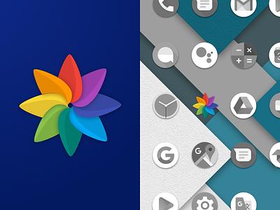 AI Gallery Icon sketch android flat logo design material design material logo app ios apple icon design icon vector photoshop