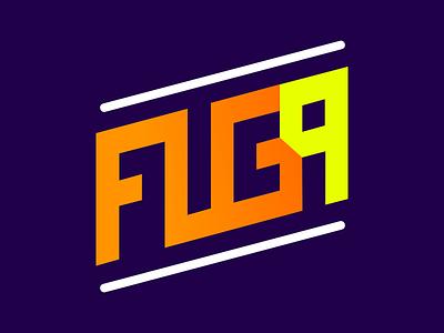 Fuga9 typography branding ui flat illustration logo design logo apple icon vector photoshop