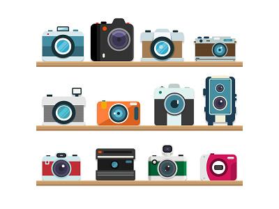 Camera retro photo camera