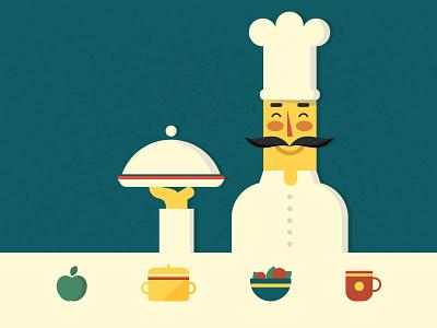 Chef rebound food chef