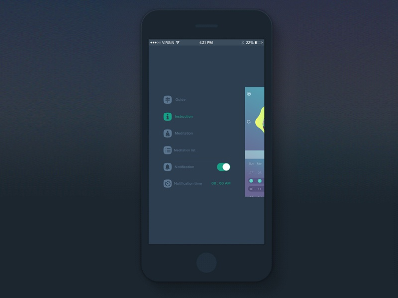 iPhone Sidebar