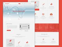 Vertical Webpage Design