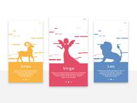 Zodiac App : Walkthrough