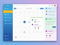 e - Leave Web App Design