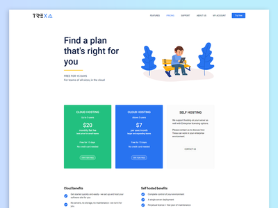 TREXA - Pricing Page
