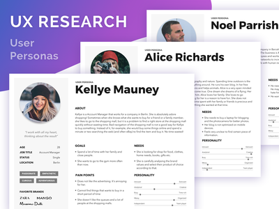 UX Research. User Personas process project persona uxresearch research ux