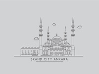 Brand City Ankara - Kocatepe Mosque