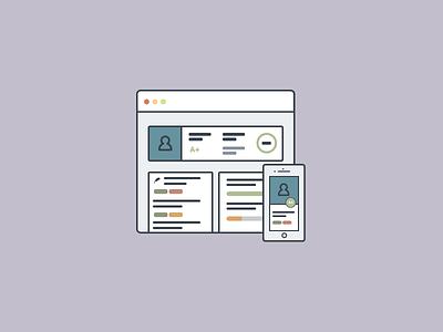 Quad Case Study learning software ux ui ed tech icon portfolio