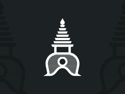 stupa logo designer in nepal idea nepali concept process branding logo designer people logo yoga focus nepali design temple buddha stupa