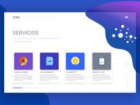 Página de servicios