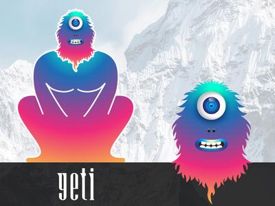Big Eyes : Yeti