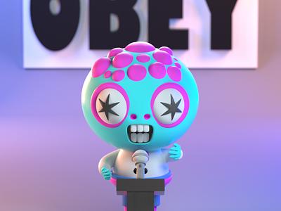 DrawBanana 2020 - Ugly monster design character illustration character design 3d modeling 3d illustration 3d artist 3d art 3d