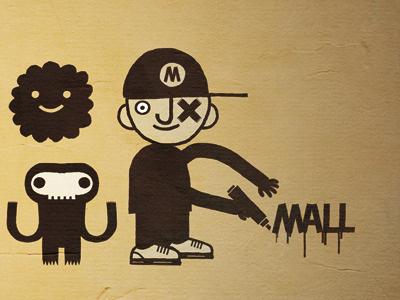 children of my mind illustration graphic design character design