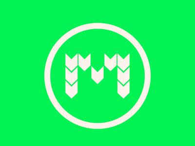 M Shape Logo logo graphic design