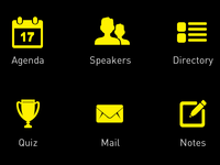 App Home page - Retina Icons