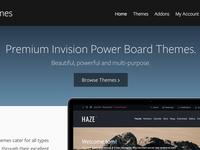 Theme site homepage